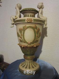 Royal Dux Bohemia Superbe Vase Art Nouveau