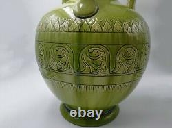 Stunning & Rare Burmantofts Faience Vasec. 1892 Art Nouveau