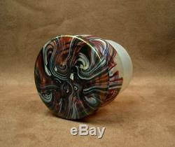 Superbe Vase Art Nouveau En Verre Irise De Wilhelm Kralik