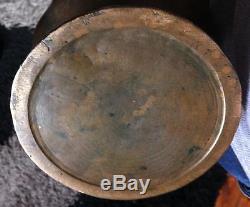 Superbe Vase Art nouveau Bronze signé SANGLAN Fondeur PARIS Piéce unique