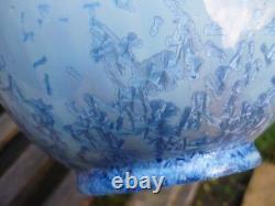 Superbe Vase Gres Cristallise Mougin Freres Nancy Art Nouveau / Deco Ventrillon