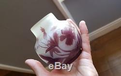 Superbe Vase gallé. Art Nouveau