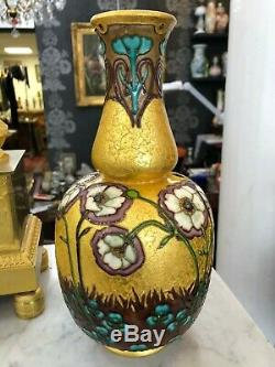 Superbe vase SEVRES PAUL MILET émaillé ART NOUVEAU lot n°2