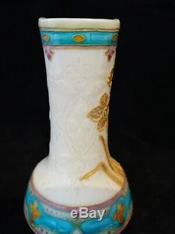 Superbe vase en faïence Optat Paul Milet à Sèvres Art nouveau