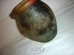 Superbe vase en pate de verre signé PEYNAUD ART NOUVEAU