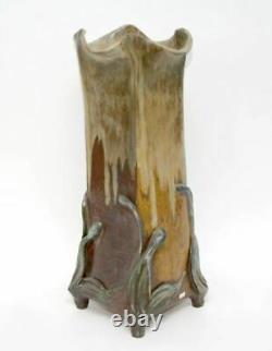 Théo Perrot Vase en grès Ecole de Carriès Art nouveau
