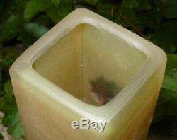Très joli Vase en Verre dans le goût de l'Art Nouveau
