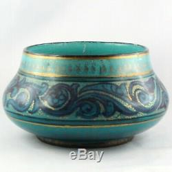 VASE Céramique Art Nouveau CLEMENT MASSIER Golfe-Juan vallauris/barol/zsolnay