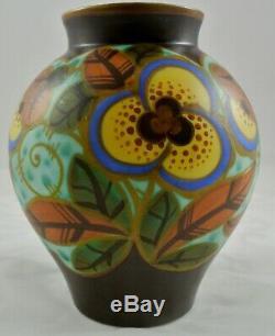 Vase Boch Frères Keramis par Charles Catteau Art Déco Art Nouveau Liberty