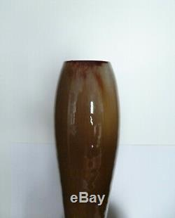 Vase Ceramique Clement Massier Golf-juan Art Nouveau Circa 1900