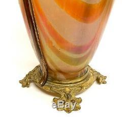 Vase Depoque Art Nouveau Attribué A Loetz