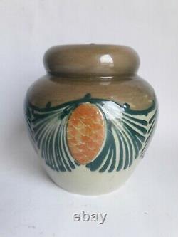 Vase ELCHINGER art nouveau art déco Soufflenheim