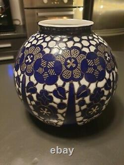 Vase En Cristal Auguste Houillon Daum Nancy