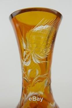 Vase Époque Art Nouveau Signé Émile Gallé Nancy