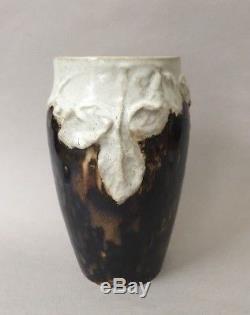 Vase Etienne Moreau Nelaton. French Art Nouveau ceramic