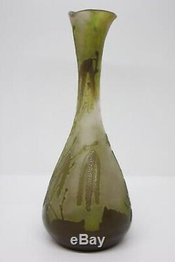 Vase Gallé Epoque Art Nouveau