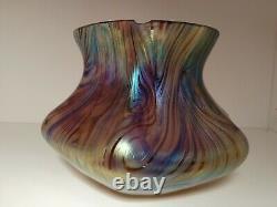 Vase Irisé Art Nouveau