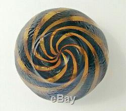 Vase KRALIK jugendstil Irisé ART NOUVEAU Haida Tortoise Shell