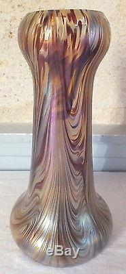 Vase Loetz Kralik irisé iridescent art nouveau