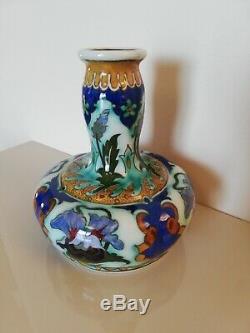 Vase Rozenburg Den Haag Soliflore Art Nouveau