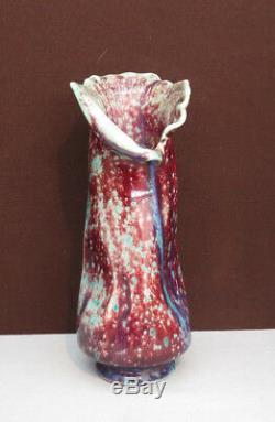 Vase Sang de Boeuf Art Nouveau