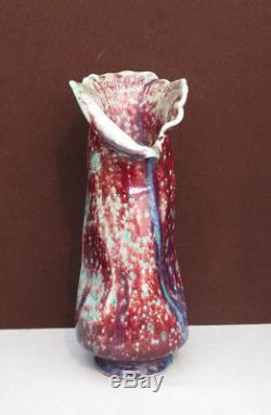 Vase Sang de Boeuf Art Nouveau. Probablement Dalpayrat