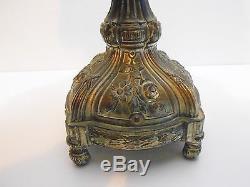 Vase / Tulipier / Soliflore Pate De Verre Art Nouveau / Glass Vase / No Muller