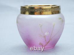 Vase Verre 1900 Gui Art Nouveau // Pantin Legras Jungendstill Glass Vase Loetz