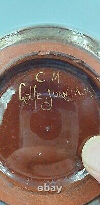 Vase art nouveau 1900 CLEMENT MASSIER GOLFE JUAN A M French 19th Century