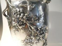 Vase art nouveau L. F. Moreau