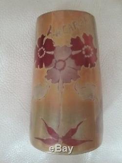 Vase art nouveau amende de carenza pas Galle, daum, lalique