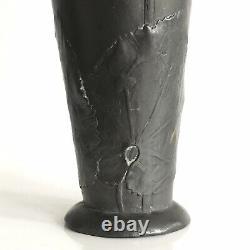 Vase art nouveau étain signé Kaiserzinn design de Hugo Leven 1900-10 jugendstil