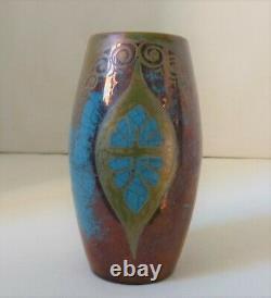 Vase art nouveau signé E. Balon-Blois