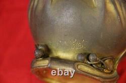 Vase en bronze art nouveau signe de maurice GIOT