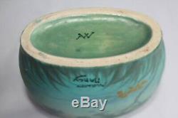 Vase en céramique émaillé Amalric Walter (1870-1959) (46952)