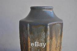 Vase en céramique vernissée de style Art nouveau non signé