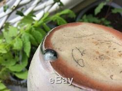 Vase en grès émaillé Paul JEANNENEY Carriès Pusaye St-Amand Art-nouveau