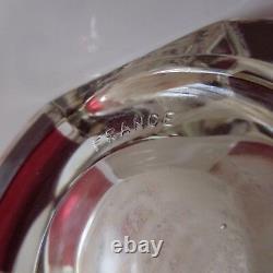 Vase en verre Art Déco Design XXe vintage PN made in France N3158