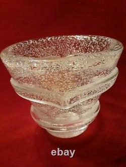 Vase signé Daum Nancy France